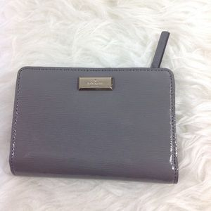 Kate Spade bifold Tellie patent leather wallet